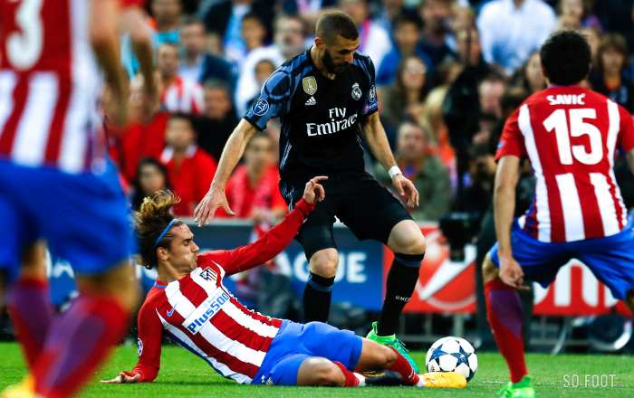 En direct : Atlético Madrid - Real Madrid