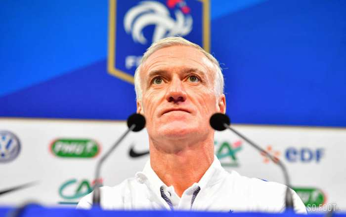 En direct : la liste de Didier Deschamps