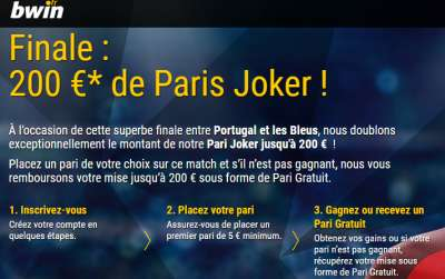 Exclu SoFoot : 200€ offerts chez bwin ce week-end seulement !