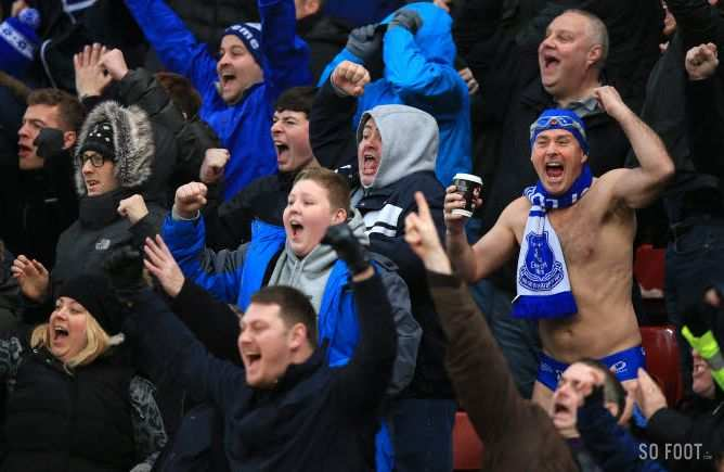 FA Cup : Everton s'impose à Bournemouth
