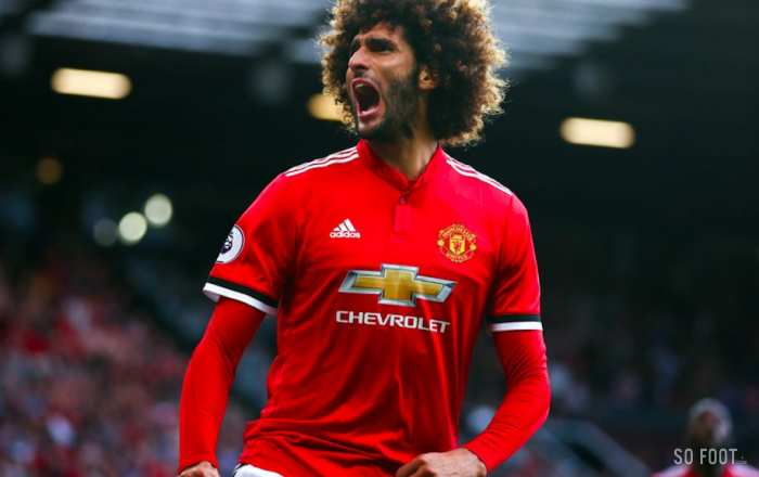 Fellaini attaque New Balance