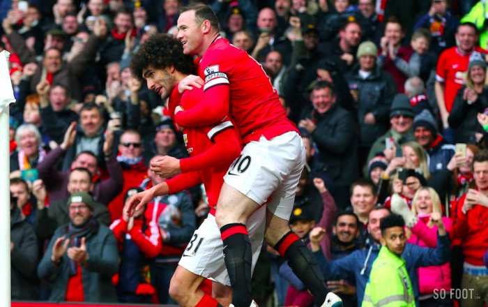 Fellaini et Rooney (Manchester United)