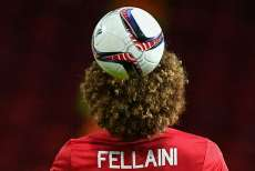 Fellaini, poil dru