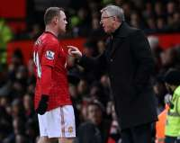 Sir Alex Ferguson et Wayne Rooney (Manchester United)
