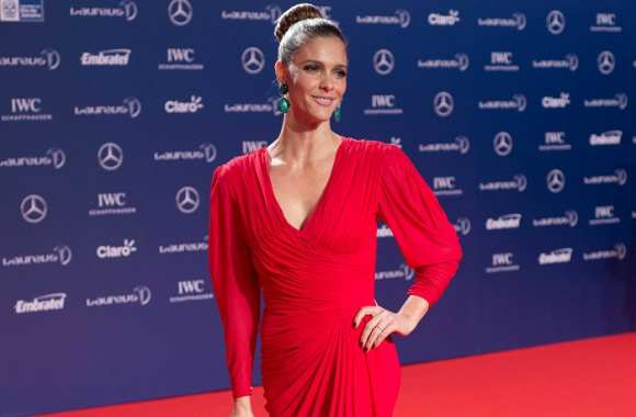 Fernanda Lima à la cérémonie des Laureus World Sports Awards 2013