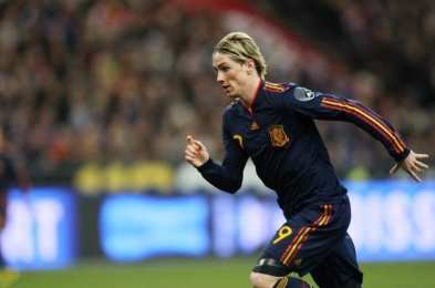 Finale Espagne/Angleterre pour Torres