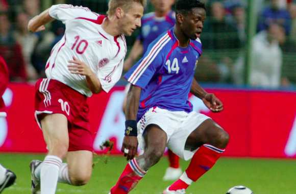 France-Danemark 2006, featuring Louis Saha