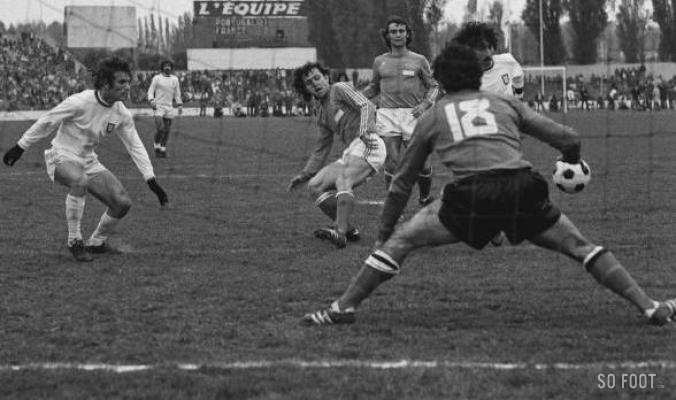 France-Portugal, 26 avril 1975, à Colombes