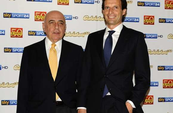 Galliani soutient Allegri