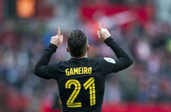 Gameiro a un index plus grand que l'autre