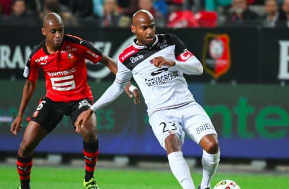 Gelson Fernandes et Jimmy Briand