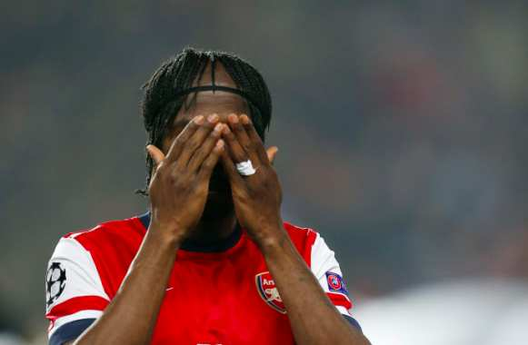 Gervinho n'aime plus Arsenal