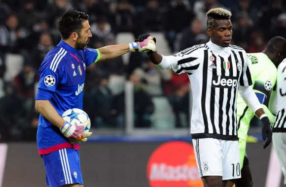 Gianluigi Buffon et Paul Pogba