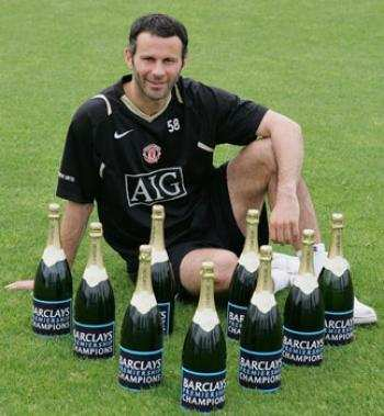 Giggs découvre le barbecue