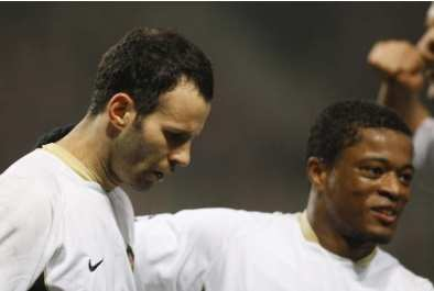 Giggs, Evra et le yoga