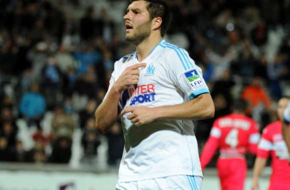 Gignac auteur du second but marseillais.