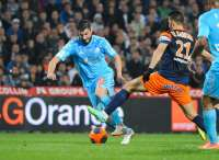Andr�-Pierre Gignac (OM) face � Montpellier