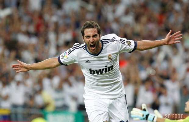 Gonzalo Higuain (Real Madrid)