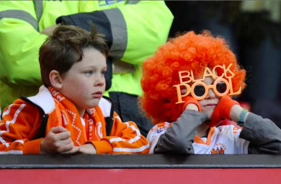 Grève surprise pendant un match à Blackpool
