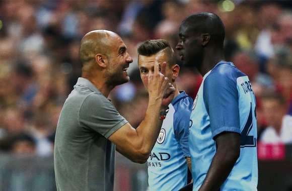 Guardiola exige des excuses de la part de l'agent de Touré