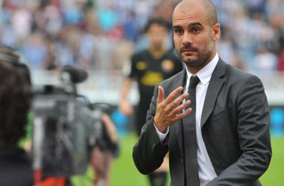 Guardiola se cogne du Real