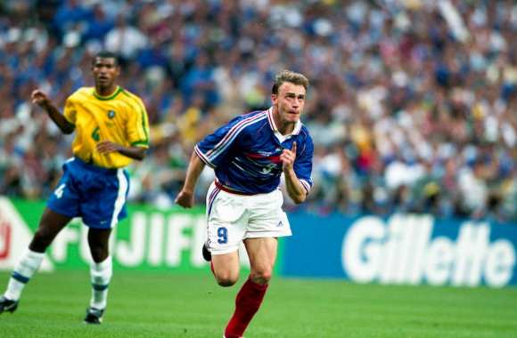 Guivarc 39 h oubli du match de gala france 98 international - Joueur coupe du monde 98 ...