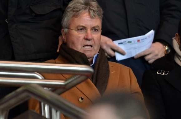 Guus Hiddink au Parc des Princes