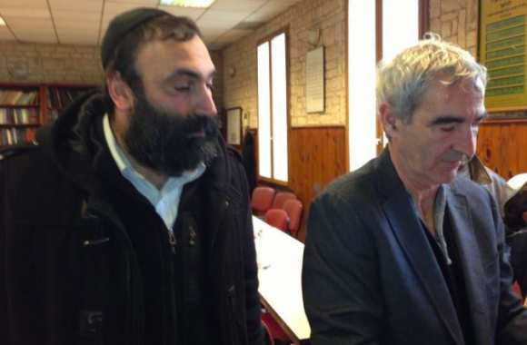 Guy Alliel avec Raymond Domenech
