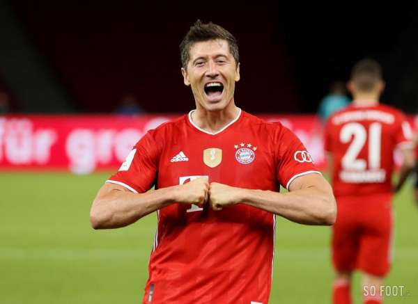 Hansi Flick pense à Robert Lewandowski pour le Ballon d'Or