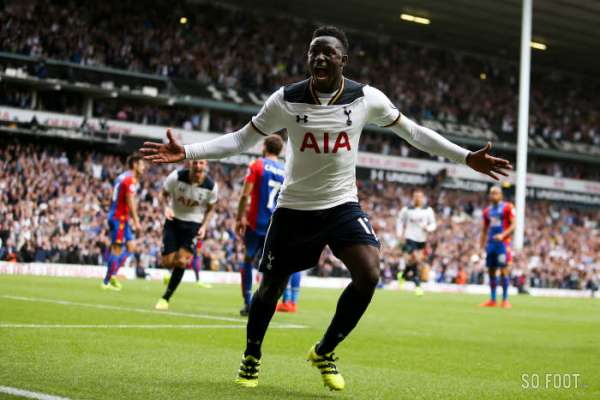 """He's a Kenyan, a mighty Kenyan, called Victor Wanyama"""