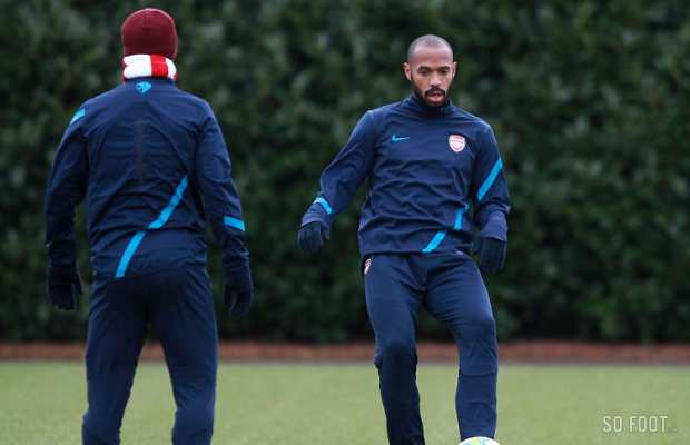 Henry, encore pigiste � Arsenal ?
