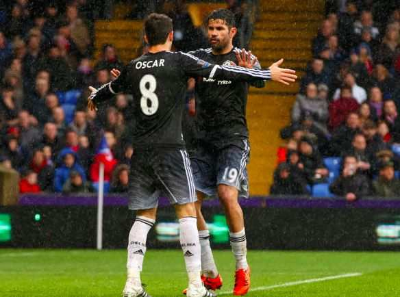 Hiddink relativise l'embrouille entre Costa et Oscar