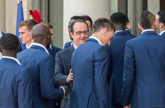 Hollande encense Koscielny