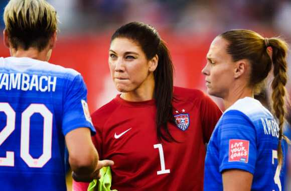 Hope Solo et ses copines