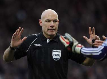 Howard Webb, meilleur arbitre 2010