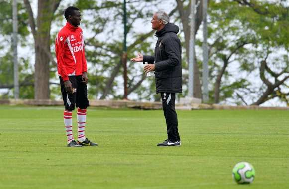 Ibrahima Toure et Claudio Ranieri (AS Monaco)