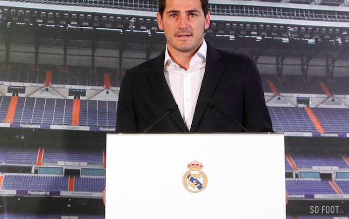 Iker Casillas, direction Porto