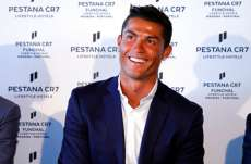 In bed with CR7
