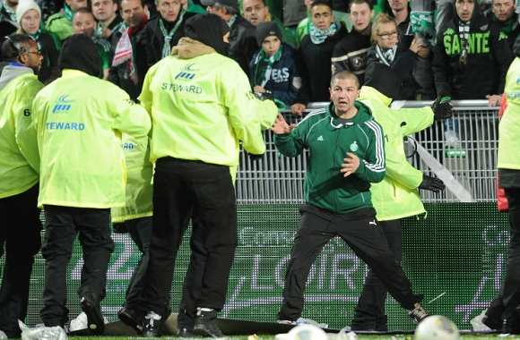 Incidents avant le match Saint-Etienne contre Lyon au début du mois de novembre