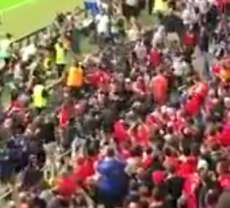 Incidents entre supporters avant la finale de C3