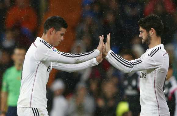 Isco et James, la contradiction de Zidane