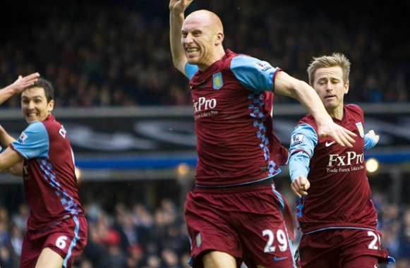 James Collins quitte Aston Villa pour West Ham