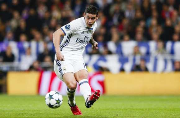 James reste à Madrid