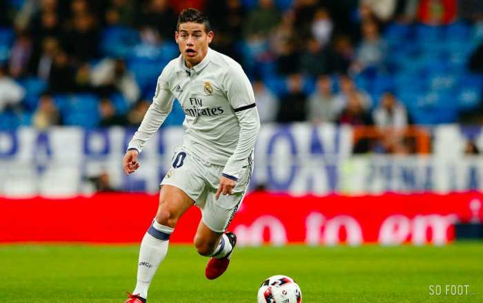 James Rodríguez et son visa