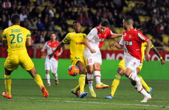 James Rodriguez (Monaco) sur son premier but