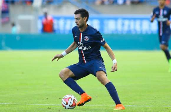 Javier Pastore, titulaire