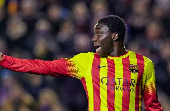 Jean Marie Dongou (FC Barcelone)