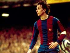 Johann Cruyff, au Barça de 1973 à 1978