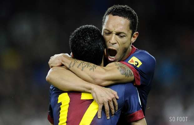 Joie d'Adriano (FC Barcelone)