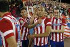Diego Costa (Atl�tico Madrid) tire un p�nalty